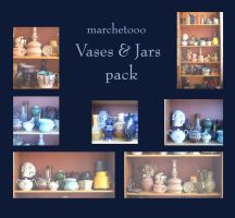 Vases and jars pack by marchetooo