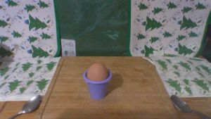 first egg from our hens by smallsandwich
