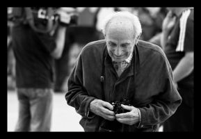 Old Man and Minolta 2 by M-M-X