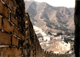 Great Wall ll by JulianasGrandma
