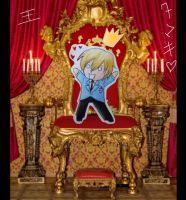 Tamaki loves being King by Aleatoire09