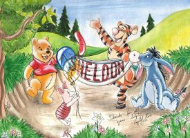 Winnie the Pooh by redheaded-step-child