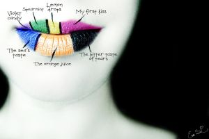 Unforgettable tastes lip art by Chuchy5