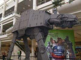 Imperial AT-AT Walker by BennytheBeast