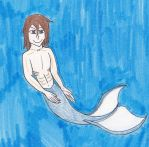 Mishu as a merman by Gamemaster999