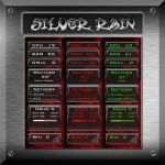 Silver Rain for Rainmeter by ionstorm01