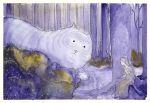 The Princess and the Great Forest Cat by Kettana