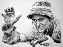 Bill Murray in Caddyshack by gigahz
