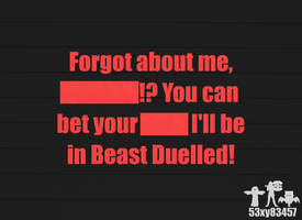 Beast Duelled - The Narrator Teaser by 53xy83457
