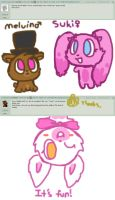 Ask five nights at cuties [32-33] by Cookie-and-her-foxes