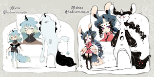 [CLOSED] ADOPT AUCTION 44 -Shadowmonster specie by Piffi-adoptables