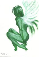 green angel by child-of-the-stars