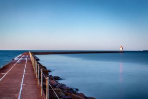 Morning in Two Harbors by dkwynia