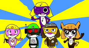 Sgt Frog: The MUFIN platoon by Wafflepal