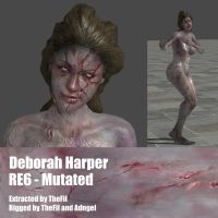 Deborah Harper RE6 Mutated by Adngel