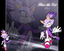 Blaze The Cat Wallpaper by MF2001