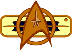 Star Trek II The Wrath of Khan Officer's Badge by viperaviator