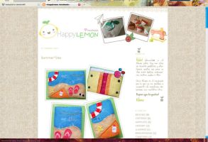 HappyLemon handmade web by neocycloid
