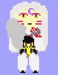 pixel sesshomaru by ambertail3557