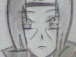 Itachi's Face by DomoDC