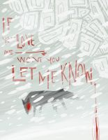 Let me know woof by Winged-Evil