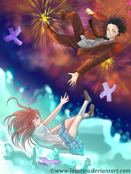 Koe no Katachi/A silent voice - Falling by Loustica