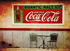 Gigantic Malt Coca Cola Coke by houstonryan