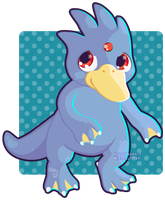 055 Golduck by Miss-Glitter