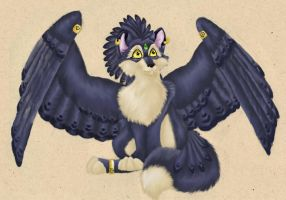 Kitwings - Art trade by WhiskerWing