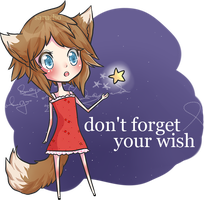 Don't forget your wish by Sarucho