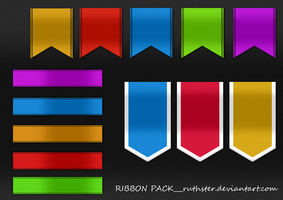 Ribbon Pack - ruthster.deviantart.com by ruthster
