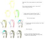 Tutorial: Shaved Hair by Amela-xD