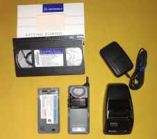 Motorola MicroTAC Elite and some accessories by Redfield-1982