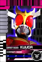 DCD Kuuga Form HQ Card by blueraven85