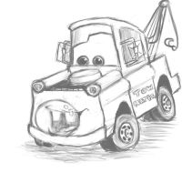 Mater Sketch by sharkie19