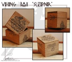 Sleipnir - Viking Box by ValkAngie