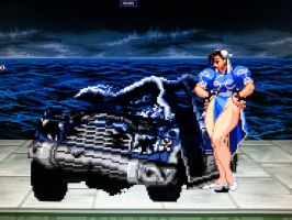 MUGEN Custom Chun-Li and FF2 car bonus by P3ncils