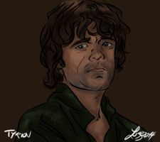 Game of Thrones - Tyrion Lannister by bratchny