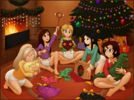 Christmas at Sammy's by The-Padded-Room