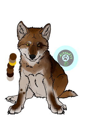 Wolf Pup Adopt Free CLOSED by Lobinhaa