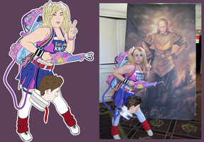 Ghostbustin' Lollipop Chainsaw by GhostbustersNews