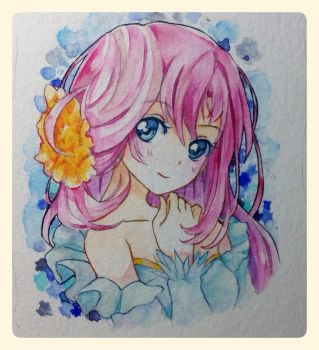 new water colours Test by PastelCake