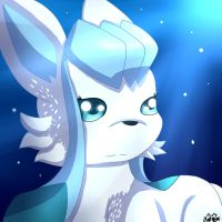Glaceon (Birthday Gift) by ShadowSnivy14