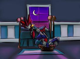 Knockout and Breakdown Night Time by The-Starhorse