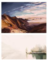 Speedpainting Landscapes by Whimsnicole