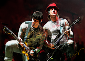 A7X Guitar Duo by nicollearl