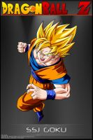 Dragon Ball Z - SSJ Goku by DBCProject
