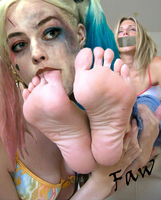 Harley quinn has a foot fetish by FaW by FeetareWonderful