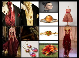 Wedding Aesthetic: Phoenix Fire by The-Serene-Mage