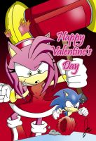 Sonic's Valentine's Day by super-sawnyc128